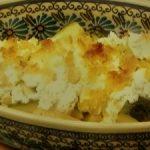 ズッキーニとカッテージチーズのトースター焼き