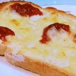 梅チーズトースト