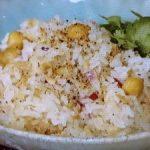 ツナとひよこ豆の炊き込みご飯