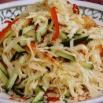切り干し大根のソムタム風サラダ