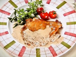 チキンのマスタードソース