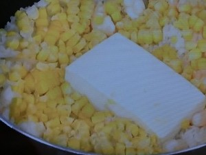 あっさりヘルシー 豆腐の炊き込みごはん