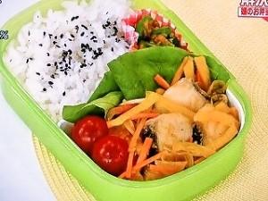 白身魚のしょうが酢漬け弁当
