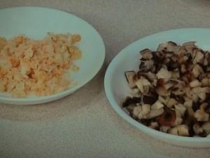 豆腐とピータンの冷製あえもの