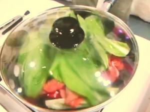 牛肉と野菜の蒸し漬け