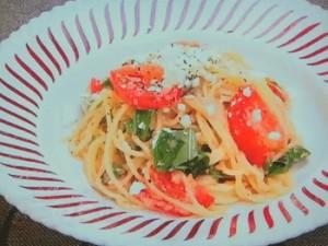 もこみち流 フェタチーズとトマトの冷製パスタ