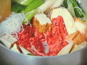 オクラと牛肉のすき煮