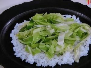 平らご飯の野菜鉄火丼