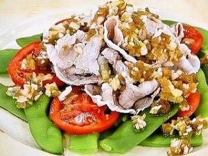 豚しゃぶの中国風サラダ