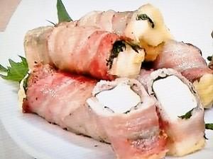 豚バラの厚揚げチーズスティック