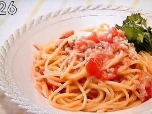 クリーミートマトスパゲティ