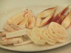 茹で野菜のピクルス