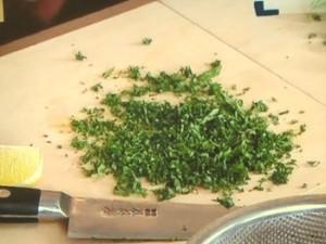 即席レシピ「ホタテのヒモのカルパッチョ」