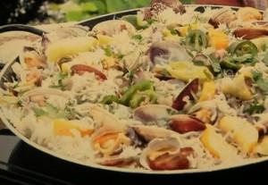 もこみち流 シラスと鎌倉野菜の和風パエリア