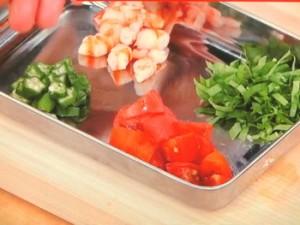 夏野菜たっぷり!冷製パスタ