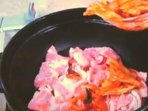 酒かすキムチ煮