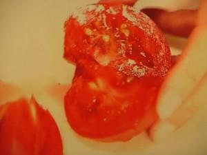 トマトとアボカドの甘酒ガスパチョ