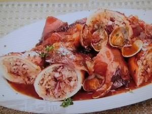 もこみち流 イタリア風イカのトマト煮