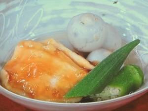 食感とろ~り!絶品 鶏の治部煮