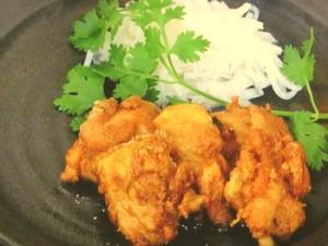 鶏肉のチキンマサラ揚げ