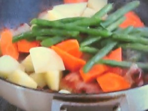 もこみち流 豚肉と野菜の甘辛みそ炒め