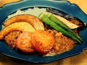 夏野菜のスパイシーカレー
