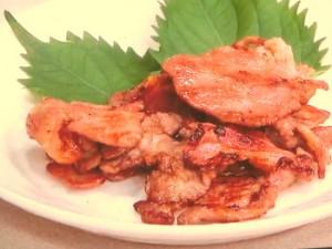 豚肉の五香粉焼き