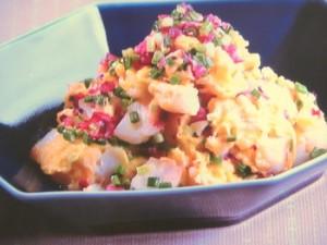 白身魚と卵のふんわり炒め