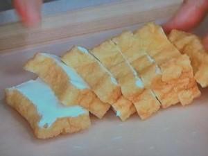ゴーヤ、なす、厚揚げの甜麺醤炒め