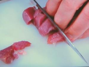 鴨肉のキャラメルミートソース