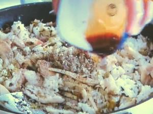 もこみち流 豚肉と高菜のチャーハン