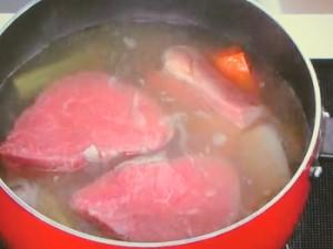 牛フィレ肉の簡単ポトフ
