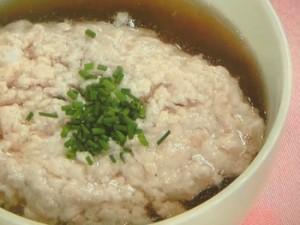 八角風味の鶏肉スープ
