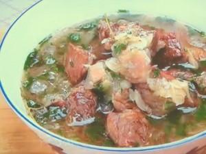 もこみち流 ビーフとオニオンのスープ