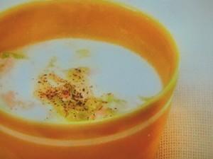 白菜とハムのスープ