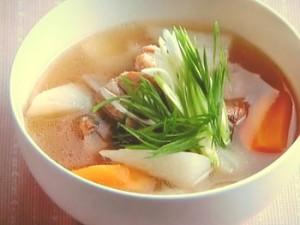 長芋とスペアリブのスープ