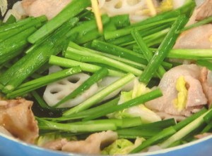 白菜のゆずこしょう野菜炒め