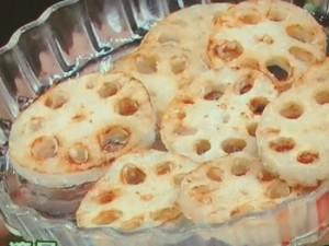 薩摩芋とレンコンのデパ地下風