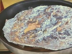 塩ブリベーコンライス