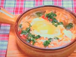 もこみち流 ソパ・デ・アホ(スペイン風野菜スープ)