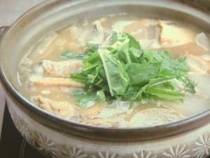 手羽の味噌鍋