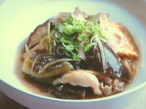 豚肉とナスの生姜煮