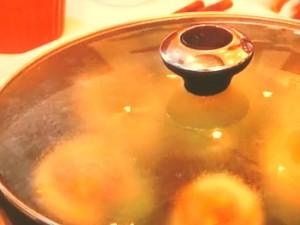 白菜の肉詰め焼き