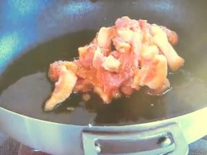 細切り豚肉ともやしのみそ炒め丼