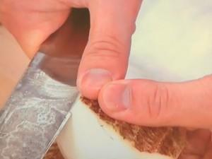 里芋の煮物~鶏そぼろあんかけ