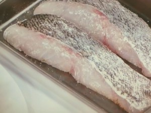 バタポンソースde鱈のムニエル