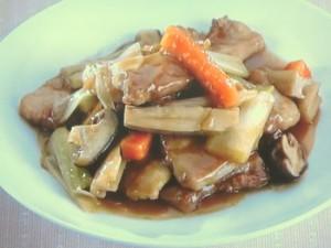 豚肉の醤油煮