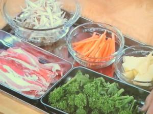 春野菜たっぷり!きんぴら