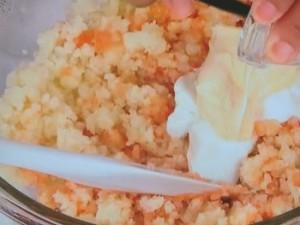 野菜にタラモソース&みそマヨネーズ