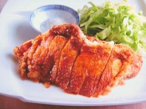 鶏のパリパリ揚げ